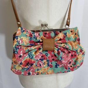 🤑 Floral Crossbody Bow Bag